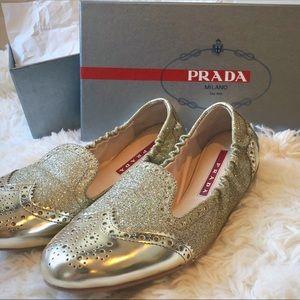 *BRAND NEW* PRADA Flat loafer style *Size - 36.6*